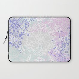 Spring Mandala on Concrete Laptop Sleeve