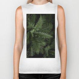 Tropical leaves 02 Biker Tank