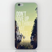 quotes iPhone & iPod Skins featuring QUOTES by magdam