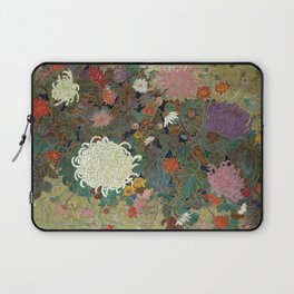 flower【Japanese painting】 Laptop Sleeve