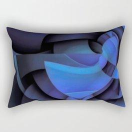 Blue Style Rectangular Pillow