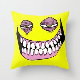 FaceYel Throw Pillow
