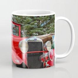 The Grand Lake Lodge Fire Engine in Fall Coffee Mug