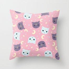 Luna Artemis Throw Pillow