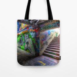 Leake Street London Graffiti Tote Bag