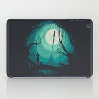 war iPad Cases featuring After Cosmic War by Robson Borges