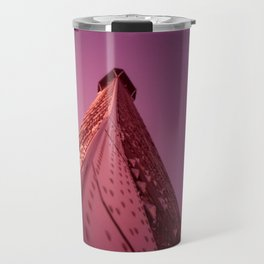 Purple Eiffel  Travel Mug