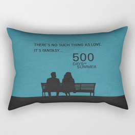 There's No Such Thing As Love Rectangular Pillow
