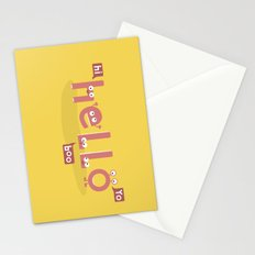 Monster Hello Stationery Cards