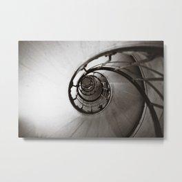 Spiraling up and up Metal Print