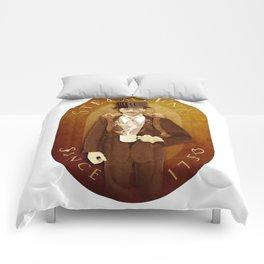 Steampunk Label Comforters