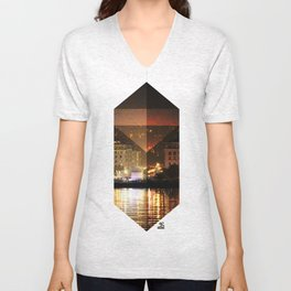 Thessaloniki Square Unisex V-Neck