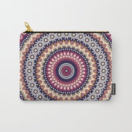 Mandala Flower Bohemian Gypsy Soul Carry-All Pouch