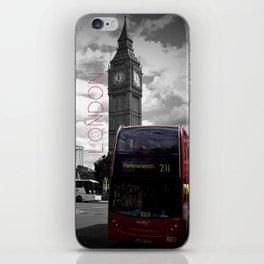 Sightseeing-London iPhone Skin