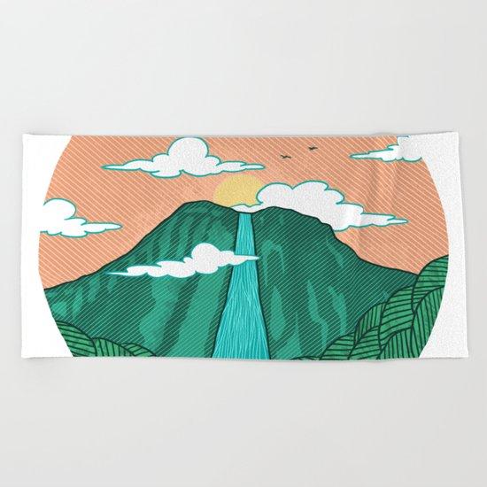 Angel Falls Beach Towel