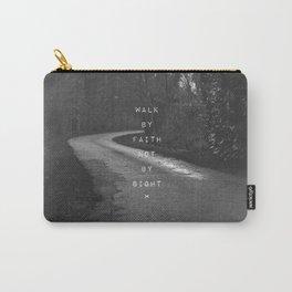 Faith not Sight Carry-All Pouch