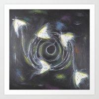 spiritual Art Prints featuring Spiritual by Rejoice Blodörn