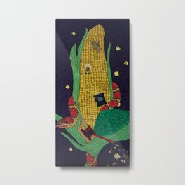 Maize (Corn) Metal Print