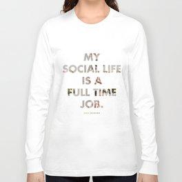 Social Life Long Sleeve T-shirt