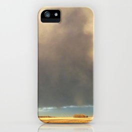 Alone at Dusk iPhone Case