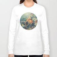 nautical Long Sleeve T-shirts featuring Seachange by Terry Fan