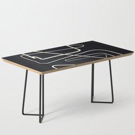 Movements Black Coffee Table