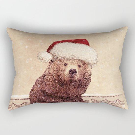 A Barnabus Christmas Rectangular Pillow
