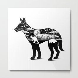 DINGO FROM DOWN UNDER Metal Print