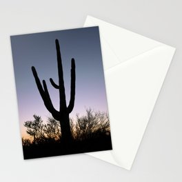 Sunset Cacti Stationery Cards