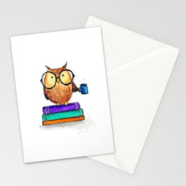 Oliver the Owl Stationery Cards