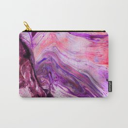 Marbled Garnet Carry-All Pouch