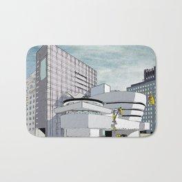 Salomon R. Guggenheim Museum, New York City Bath Mat