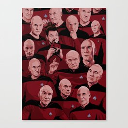Picard Day Canvas Print