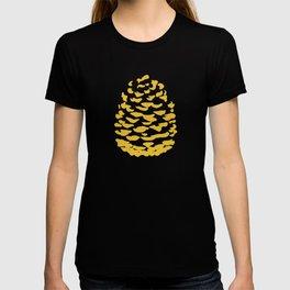 Pinecone Mustard Yellow T-shirt