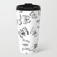Butterflies and moths Metal Travel Mug