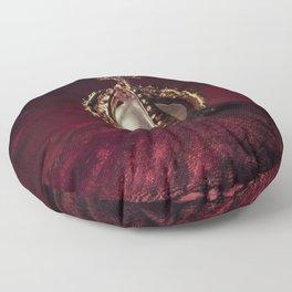Golden Crown Floor Pillow