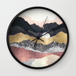 Frost Reflection Wall Clock