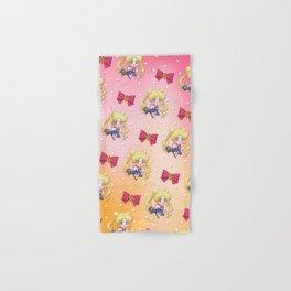 Chibi Usagi Pattern Hand & Bath Towel