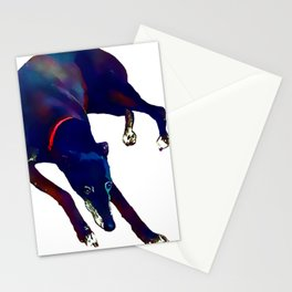 Watercolor Greyhound Stationery Cards