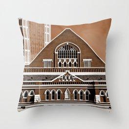 Famous in Nashville Throw Pillow