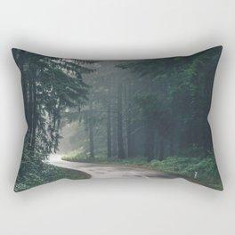 Forest Road Rectangular Pillow