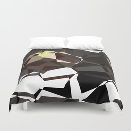Geometic Greys Duvet Cover