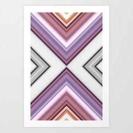 Metallic Smell Art Print