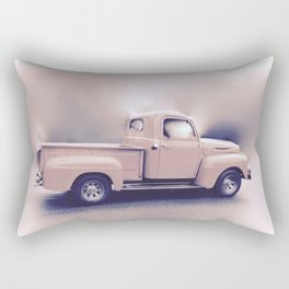 Classic Vintage Pickup Rectangular Pillow