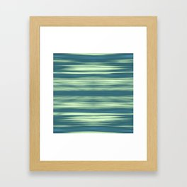 Abstraction Serenity in Afternoon at Sea Framed Art Print