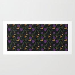 butterfly temp* Art Print