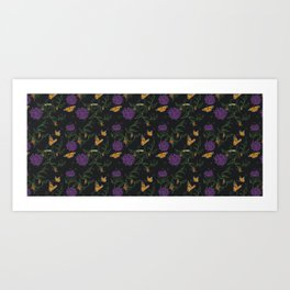 butterfly temp* Art Print