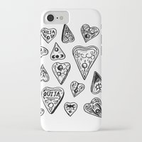 ouija iPhone & iPod Cases featuring Ouija - 2  by Vicky Pandora