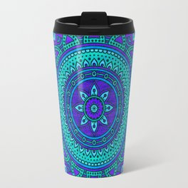 Hippie mandala 55 Travel Mug