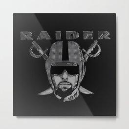 3D RAIDERS Metal Print